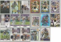 Jared Allen Minnesota Vikings 17 card 2012 insert lot-all different