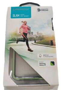 LifeProof Slam Transparent Slim Green / Black Crystal Case for Samsung Galaxy S9