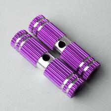 New Purple Small Gear Style Profile Bike Foot Pegs 2.67in Length (2 Per Order)