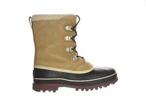 SOREL Mens Caribou Stack Buff Snow Boots Size 10.5 (2167065)