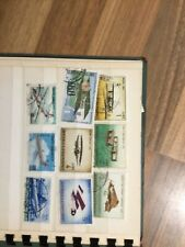 Stamps of  plains in small album BX PLAIN