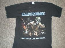"""IRON MAIDEN """"amolad Tour shirt 2006"""" SIZE LARGE"""