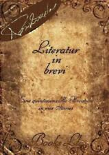 Literatur in Brevi by Thanos Papathanassiou (2012, Paperback)