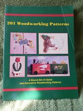 201 Woodworking Patterns for Plaques Birdhouses Clocks Whirligigs Gardens Crafts