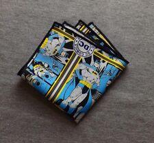 BatMan Pocket Square Superhero Wedding Formal Tux Prom Handkerchief
