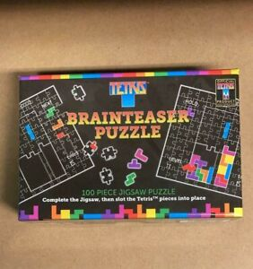 Tetris Mini Jigsaw Puzzle - The Puzzle Within a Puzzle!