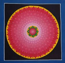 TIBETAN MANDALA THANGKA BUDDHA KALACHAKRA WALL CANVAS PAINTING