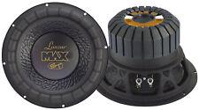 """Lanzar Max12 Max 12"""" 1000 Watt Small Enclosure 4 Ohm Subwoofer"""
