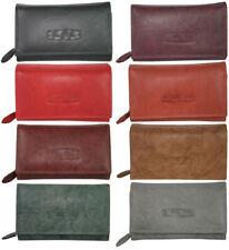 RFID Leder Damen Geldbörse Großes Portemonnaie Brieftasche für Frauen viel Platz