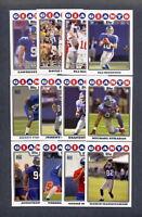 2008 Topps Football New York Giants TEAM SET - MINT