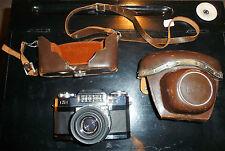 ancien appareil photo zeiss ikon contaflex synchro - compur objectif tessar