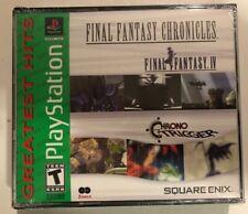 Final Fantasy Chronicles: Final Fantasy Iv & Chrono Trigger PlayStation 1 *New!