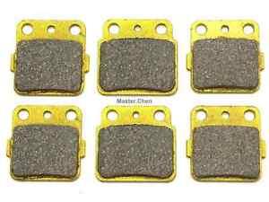 Front Rear Brake Pads For Suzuki LTZ 400 Kawasaki KFX 400 KFX400 2003 2004 2005