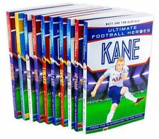 Ultimate Football Heroes 10 Books Set Collection Kane Neymar Ronaldo - NEW