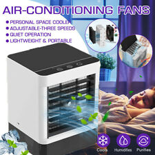 Evaporative Portable Mini Air Conditioner Cooler Fan Humidifier Air Cooling Fans