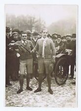 Young Men Walking from Paris to Cannes - Original Press Photo 1929