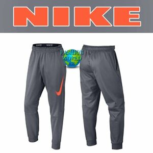 Nike Men's Size Medium Therma Graphix Tapered Training Pants 800317 Cool Grey