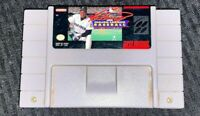 Super Nintendo SNES Ken Griffey JR Baseball Game Cartridge Tested and Works