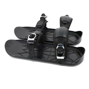 1 Pair Mini Snow Skating Shoes Snowbalde Shoes Outdoor Unisex Free Size Skiboard