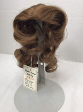 Vintage Brown Imsco Sythetic Doll Wig M-70 Size 5 Color 12