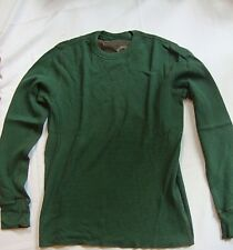 NEW 1987 Canyon River Blues Comfort & Style Mens Green Pull Over Sweater Size M