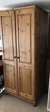Large Solid Pine Wardrobe - Collect From Glasgow