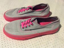Kids girls vans trainers shoes size 2