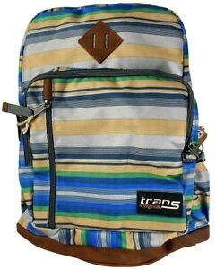 """Brand New With Tags Multi-Colored Trans By Jansport 18"""" Dakota Backpack"""