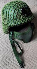 Green Net & mesh Airsoft Tactical Helmet M88 & Tact.Gloves
