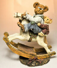 Boyds Bears: Pop Pop With Chrissy - Giddy Up! - 1st Edition 1E/5694 # 228371