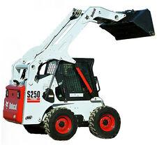 BOBCAT S250 Skid-Steer Loader Service, Operator's  & Parts Manual CD
