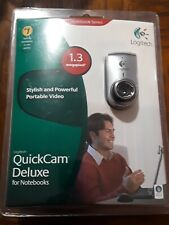 Logitech QuickCam Deluxe for Notebooks 1.3 megapixel (960-000043)USB 2.0 Webcam
