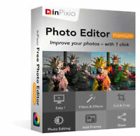 InPixio Photo Editor Premium Full Version Lifetime License Windows 7-10 Download