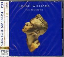 ROBBIE WILLIAMS-TAKE THE CROWN-JAPAN CD F37