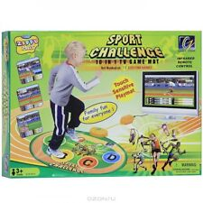 ZIPPY TOYS SPORT CHALLENGE 10 IN 1 TV GAME PLAY MAT FAMILY FUN TOUCH SENSITIVE