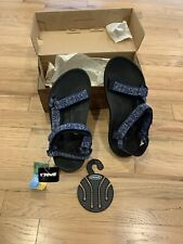 Teva Torin #6576 Adjustable Water Hiking Sports Sandals Womens Sz 8 Blue floral