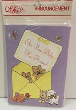 Galaxy Announcement Cards Our New Baby Has Arrived 8cards 8 Envelopes Birth Anno