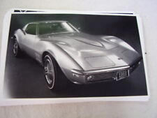 1968 CHEVROLET CORVETTE    11 X 17  PHOTO  PICTURE