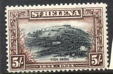 St. Helena 1934 LMM SG 122 Cat £100