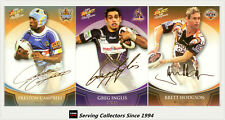*2008 Select NRL Champions Cards Gold Foil Printed Signature Full Set (48)-RARE!