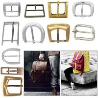 Metal Belt Buckle Single Pin Lightweight Replacement Bag Clothing Handbag Shoes