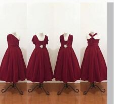GIRL'S KIDS INFINITY DRESS (MAROON)