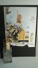 Flacon de parfum LEONARD + Annonce publicitaire