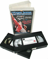 Michael Jackson VHS Double Making of THRILLER + Legend Continues Box Set 1992