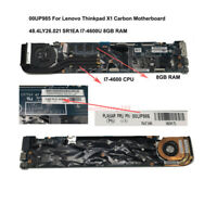 00UP985 For Lenovo Thinkpad X1 Carbon Motherboard  48.4LY26.021 I7-4600U 8GB RAM