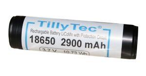 Tauchlampe TillyTec Akku 18650