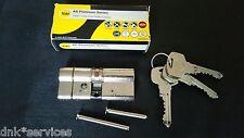 Yale Euro Cylinder Door Lock AS Platinum TS007 3* Star 35mm/35mm Composite Doors