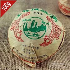 Yunnan TuLin 852 raw puer 100g Chinese sheng pu erh tea for weight loss