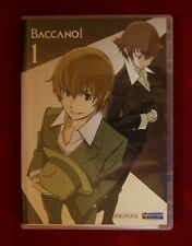 Baccano! Volume 1 Official Aniplex dvd