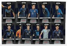 2018 Panini Prizm FIFA World Cup Base Team Set JAPAN (11 Cards)